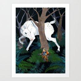 Daniel Boone's Deer Art Print