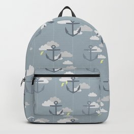 Stormy Nautical Pattern 2 Backpack