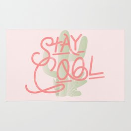 Stay Cool Cactus Rug
