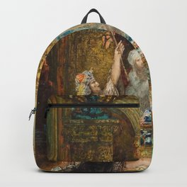 The Fable by Gustave Moreau Backpack