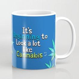 It's Beginning to Look Alot Like Cannabis Coffee Mug