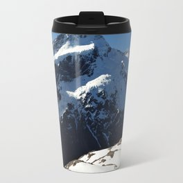 Mueller Hut from Mt. Oliver Travel Mug