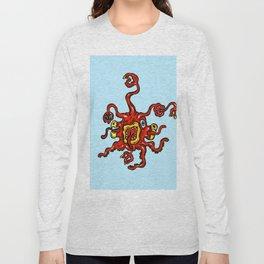 Alien Wiggle Monster - Slurp Long Sleeve T-shirt