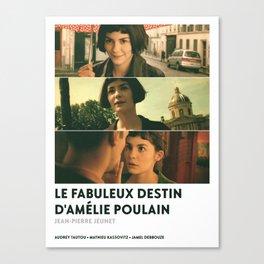 Amélie Poulain Canvas Print