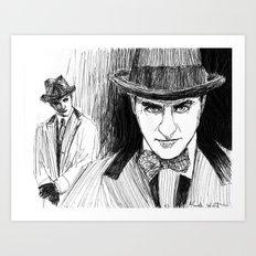Gambler  Art Print