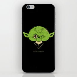 StarWars May the Force be with you (green vers.) iPhone Skin
