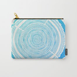 Douglas Fir – Blue Ombré Carry-All Pouch