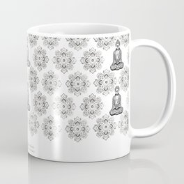 """Rule Your Mind Before It Rules You"" Wise Words and Quote on Yoga, Fitness Outfits and Leggings Coffee Mug"