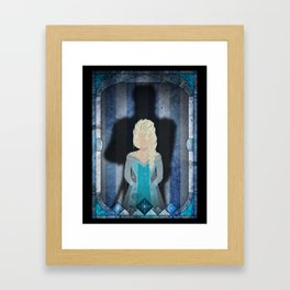 Shadow Collection, Series 1 - Frost Framed Art Print