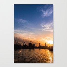 Twilight Skyline Canvas Print