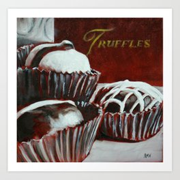Savoy Truffle Art Print