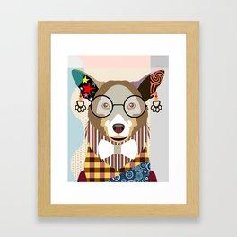 Pembroke Welsh Corgi Framed Art Print