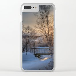 Channel View Clear iPhone Case