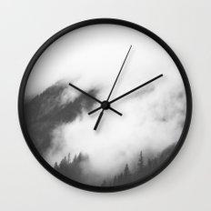 PNW Storm II Wall Clock
