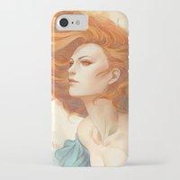 artgerm iPhone & iPod Cases featuring Pepper Breeze New by Artgerm™