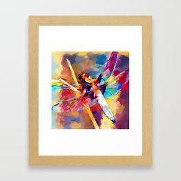 Dragonfly 3 Framed Art Print