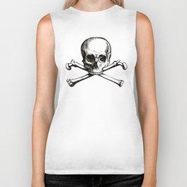 Skull and Crossbones | Jolly Roger Biker Tank