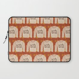Sweater Weather is Better! Laptop Sleeve