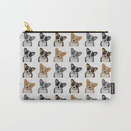 Welsh Corgi Pattern Carry-All Pouch