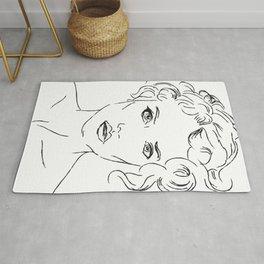 Mina artprint - minimal Rug