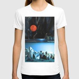 3d Art Digital Art Cave Lake T-shirt