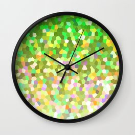 Mosaic Sparkley Texture G150 Wall Clock