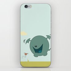 Butterfly Monster iPhone & iPod Skin