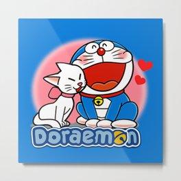 Doraemon Lover Metal Print