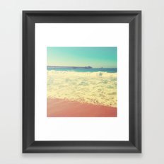Summer in California Framed Art Print