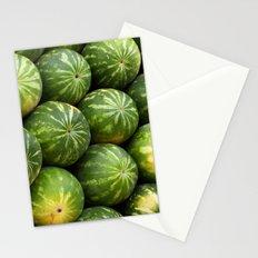Melon fruit pattern Stationery Cards