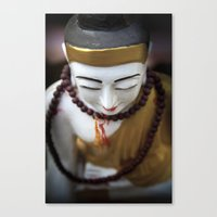 buddha Canvas Prints featuring Buddha by Maria Heyens