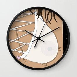 Space Boobs Wall Clock