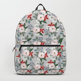 Christmas Floral Backpack