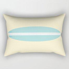 #91 Surfboard Rectangular Pillow