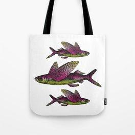 Flying Fish Tote Bag