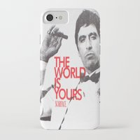 scarface iPhone & iPod Cases featuring SCARFACE by I Love Decor