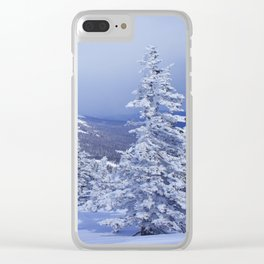Winter day 27 Clear iPhone Case