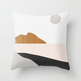 Minimal Art Landscape 3 Throw Pillow
