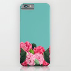 Floral & Turquoise Slim Case iPhone 6s
