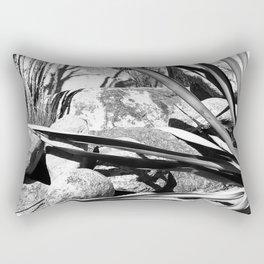 Desert Architectural Design Landscape Rectangular Pillow