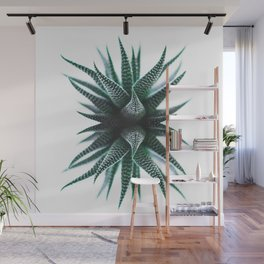 Minimal Cactus Wall Mural