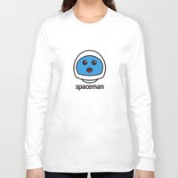 spaceman Long Sleeve T-shirts featuring SPACEMAN by Joel Danielsson