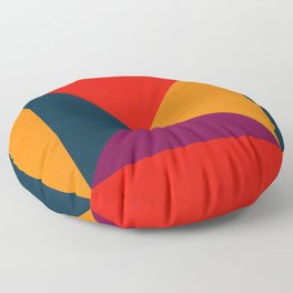 Geometric abstract Floor Pillow