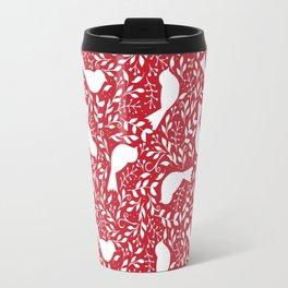 Birdie Bundle in Red Travel Mug