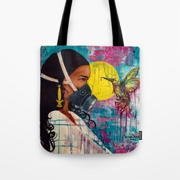 Morning Chatters Tote Bag