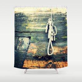 Nautical Rope 2 Shower Curtain