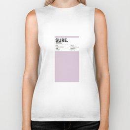 Sure. - Colour Card Biker Tank