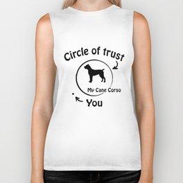 Circle of trust my Cane Corso Italiano. Biker Tank
