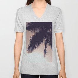 Palm Sunrise Unisex V-Neck