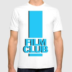 Film Club Mens Fitted Tee White MEDIUM